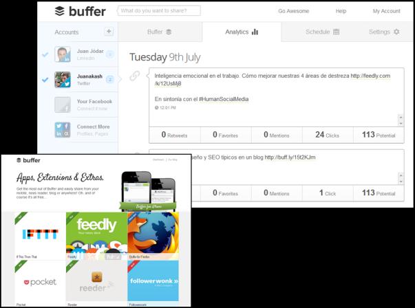 Extensiones Buffer