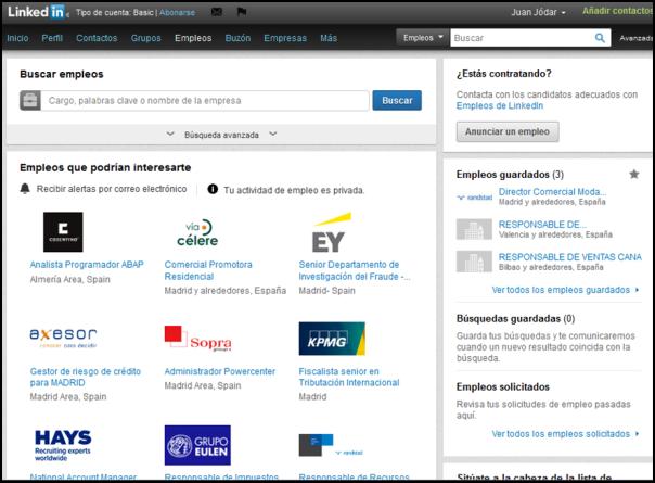 Empresas linkedIn
